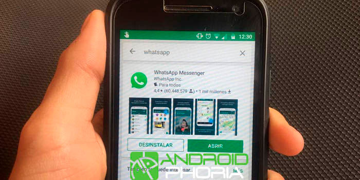 WhatsApp app falsa en Google Play