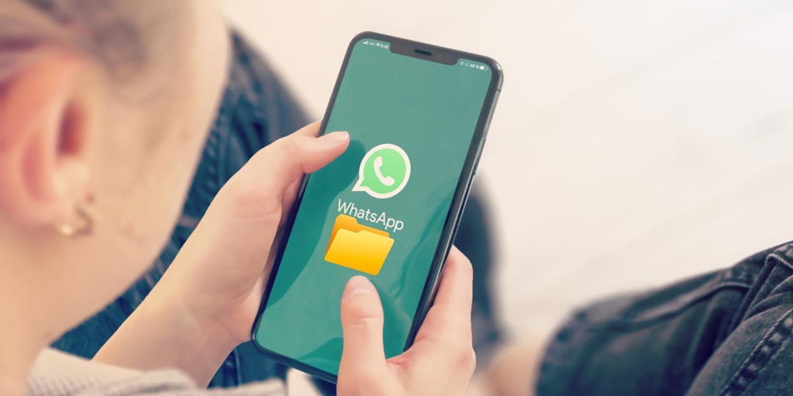 WhatsApp cambio de lugar la carpeta donde se guardan los archivos