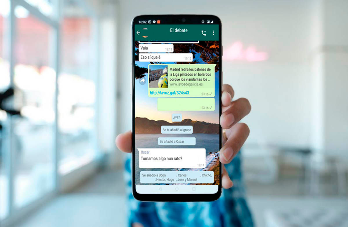 WhatsApp esta expulsando gente de los grupos error