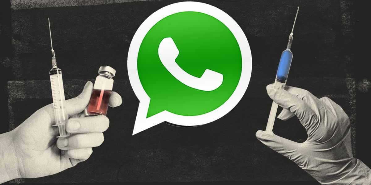 WhatsApp lanza un pack de stickers para la vacuna del coronavirus