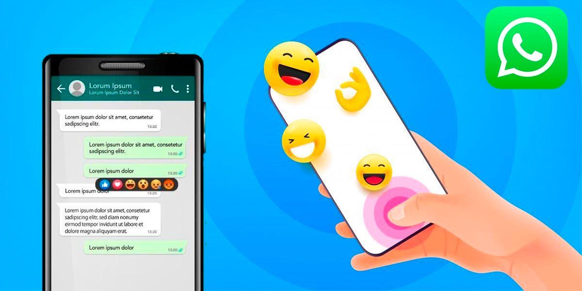 WhatsApp permitira reaccionar a los mensajes