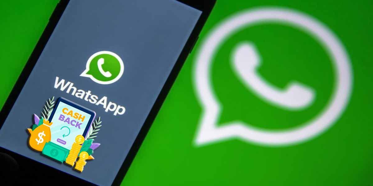 WhatsApp prueba cashback