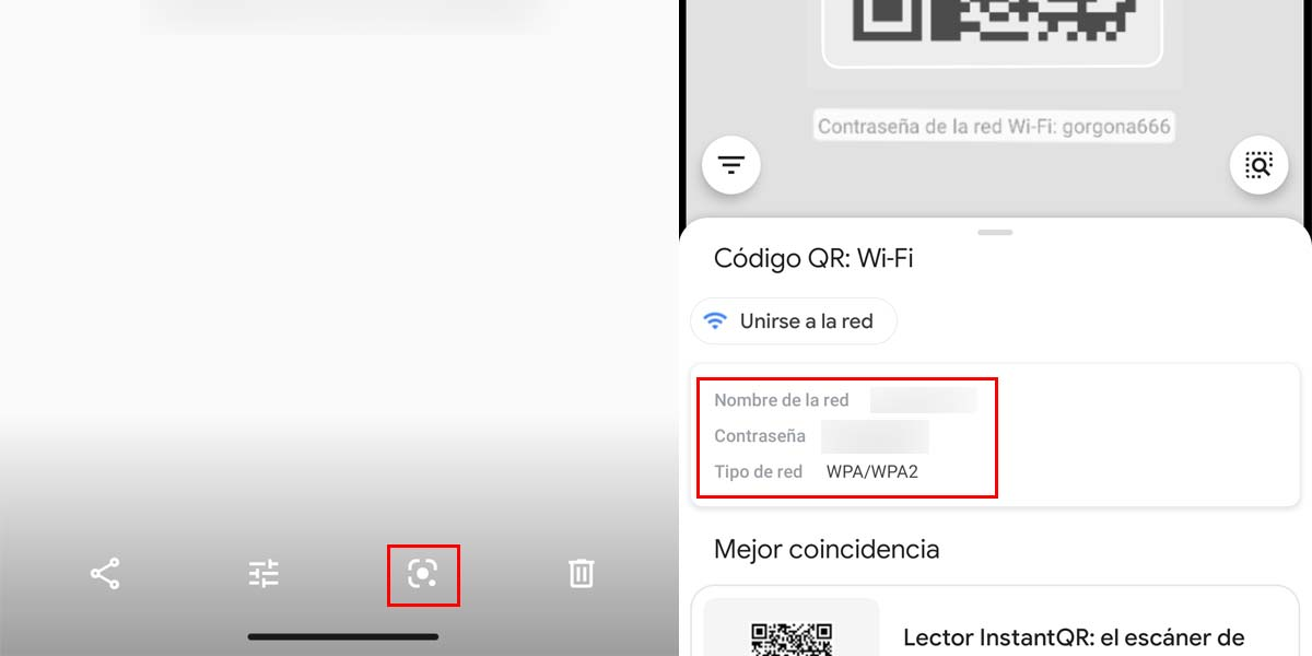 Recuperar contraseña WiFi