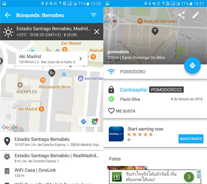 WiFi Map encontrar wifi gratis