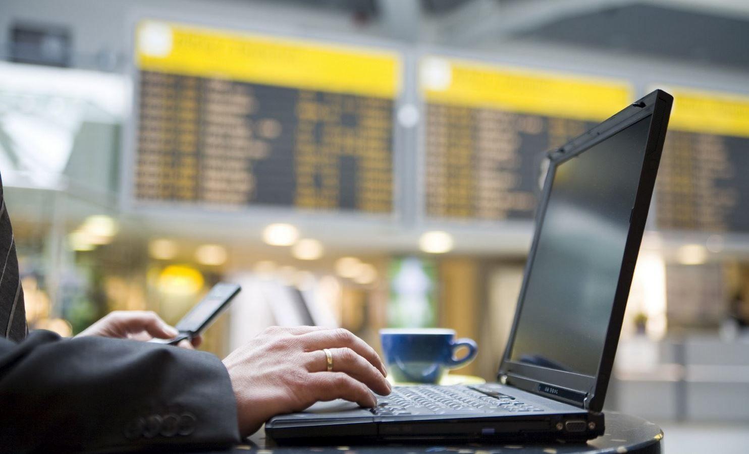 WiFi gratis en el aeropuerto