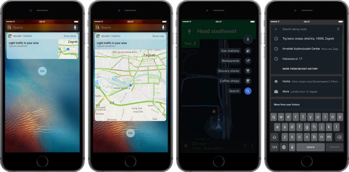 Widgets Maps iOS