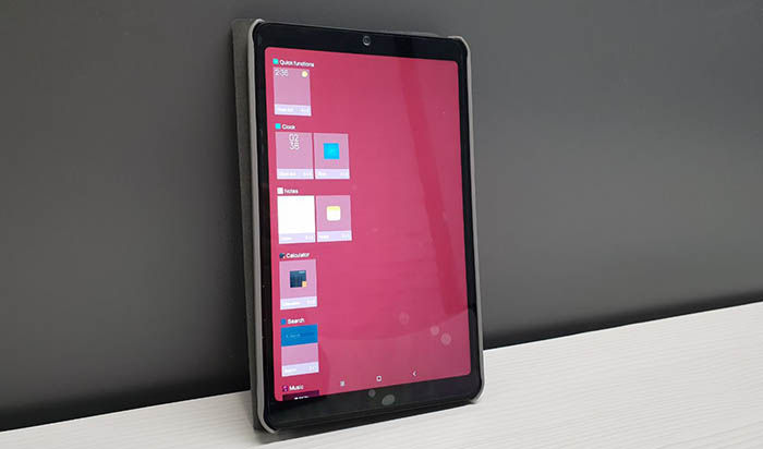 Widgets en Xiaomi Mi Pad 4