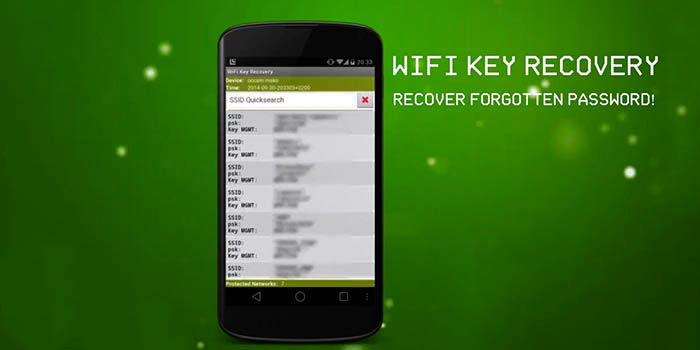 Wifi Key Recovery para Android