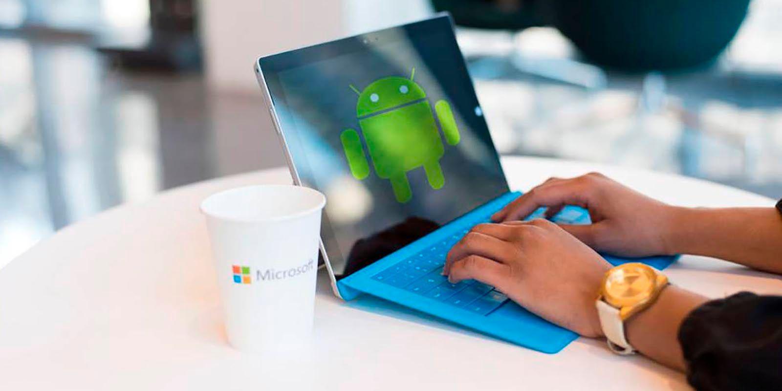 Windows 11 permitiria ejecutar apps Android