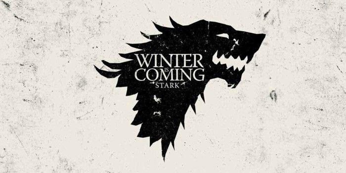 Winter is coming Stark Juego de Tronos