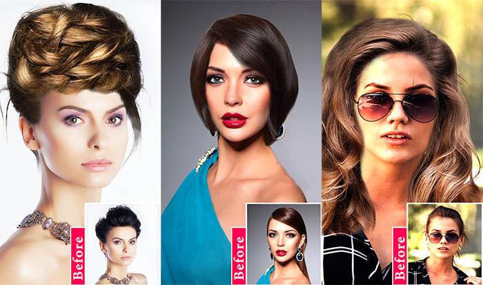 Women Hairstyles capturas