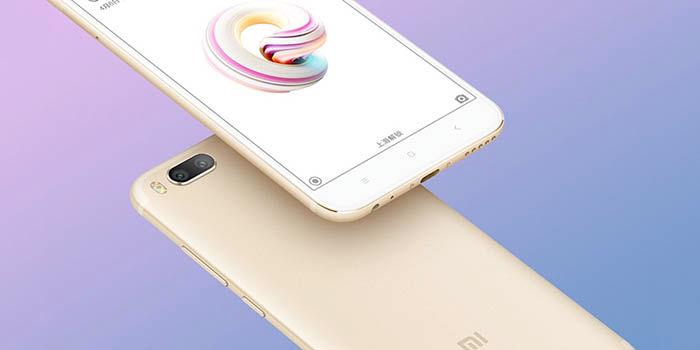 Xiaomi 5X imagen oficial
