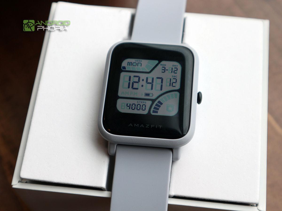 Xiaomi Amazfit Bip actividades
