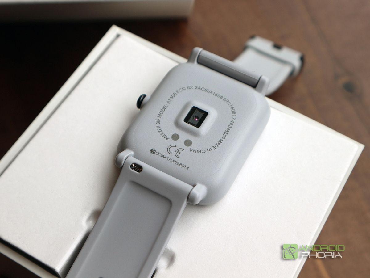 Xiaomi Amazfit Bip sensor pulso