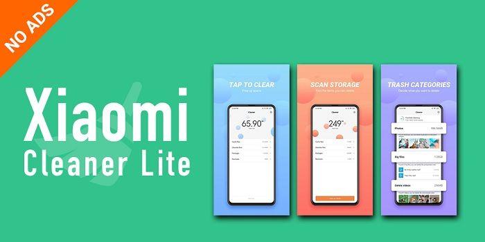 Xiaomi Cleaner Lite te permite liberar memoria en cualquier Android