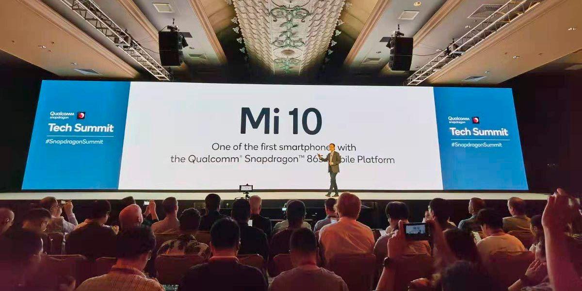 Xiaomi Mi 10 podria ser el primer movil con SD865