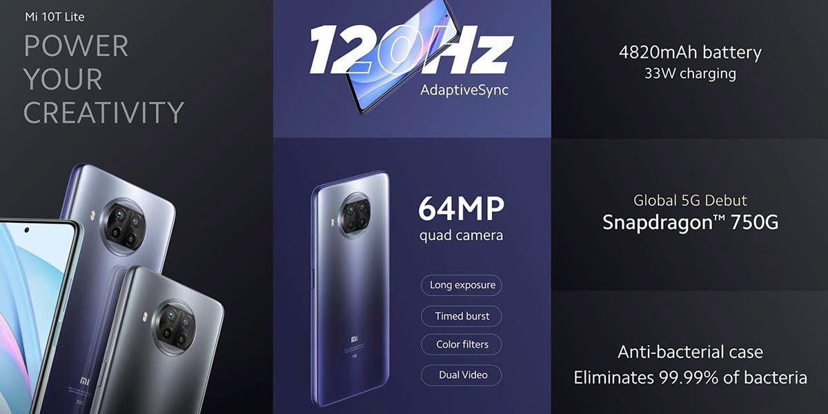Xiaomi Mi 10T Lite oficial
