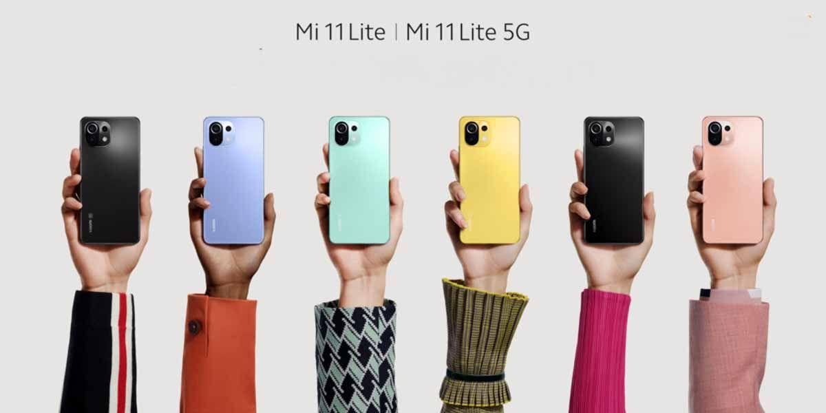 Xiaomi Mi 11 Lite y Mi 11 Lite 5G dimensiones y aspecto
