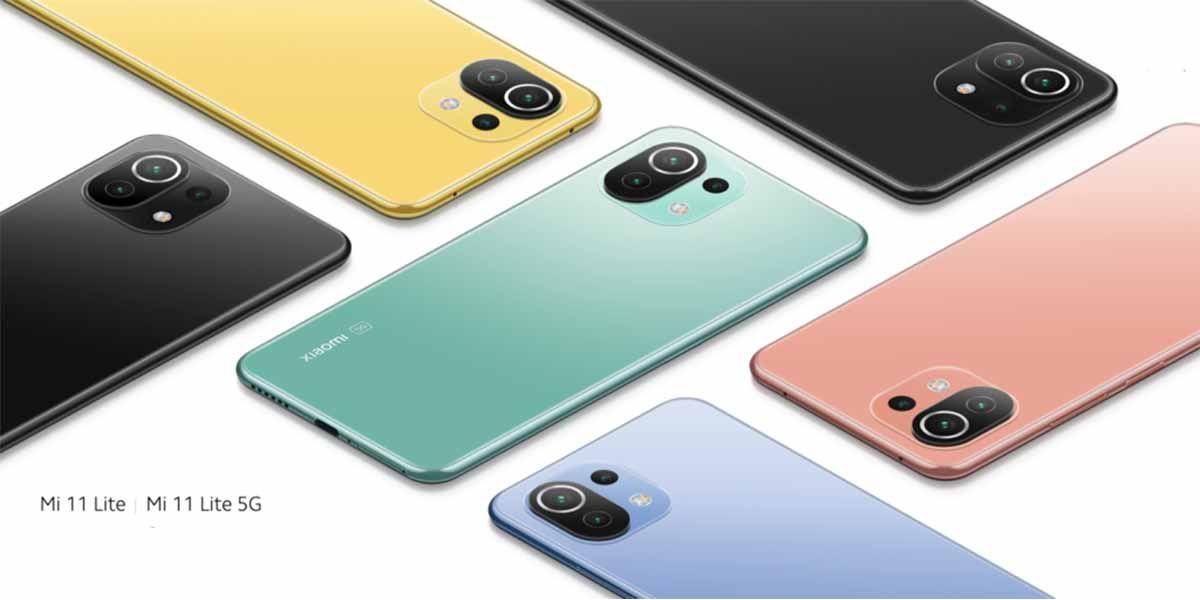 Xiaomi Mi 11 Lite y Mi 11 Lite 5G especificaciones y precios