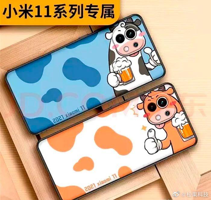 Xiaomi Mi 11 meme camara vaca