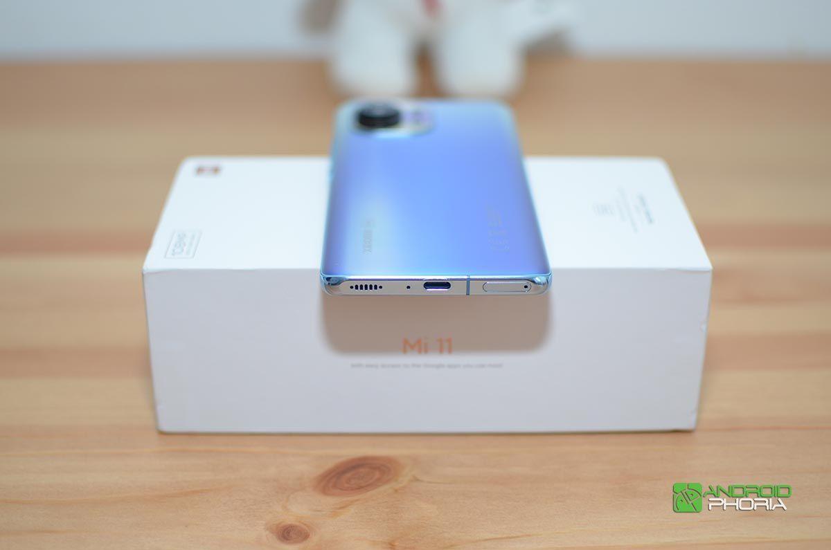 Xiaomi Mi 11 parte inferior