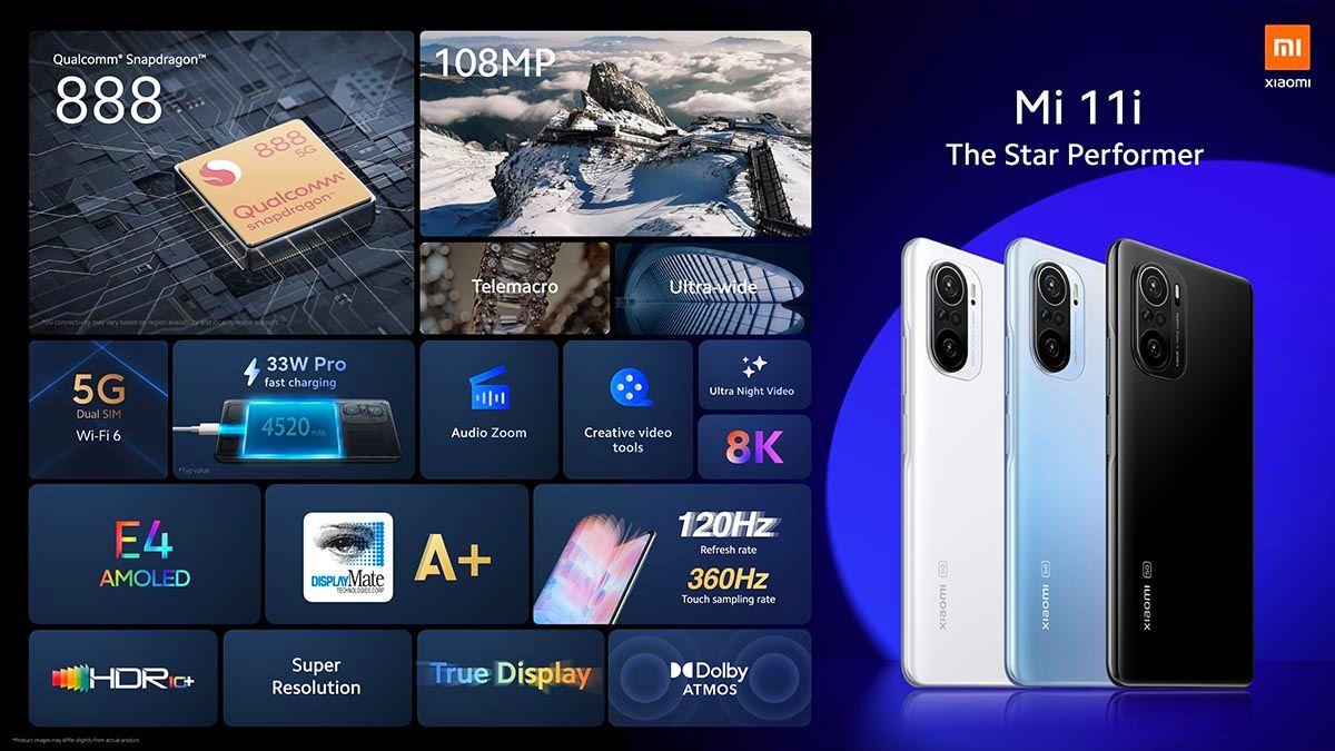 Xiaomi Mi 11i caracteristicas