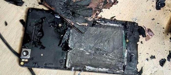Xiaomi Mi 4i explota