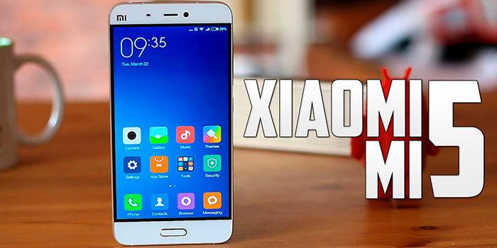 Xiaomi Mi 5 se actualiza a MIUI 10
