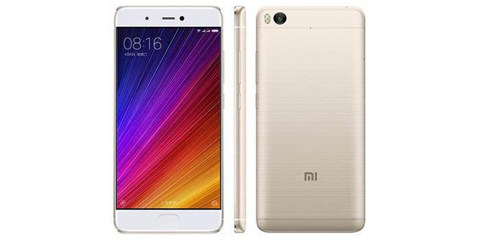 Xiaomi Mi 5s dorado
