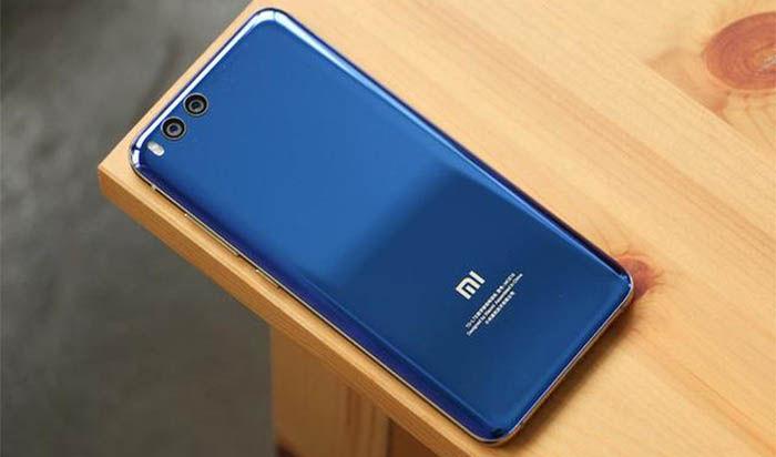 Xiaomi Mi 6 de volta