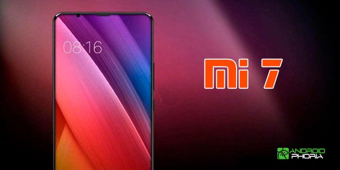 Xiaomi Mi 7 sensor de huellas en pantalla