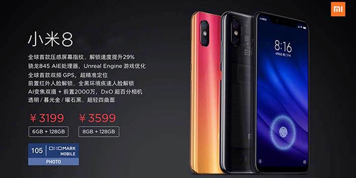 Xiaomi Mi 8 Pro características y precio