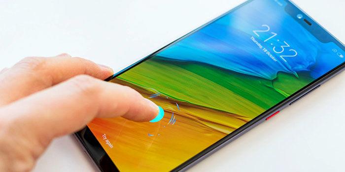 Xiaomi Mi 8 Pro lector de huellas