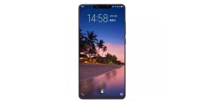 Xiaomi Mi 8 con notch