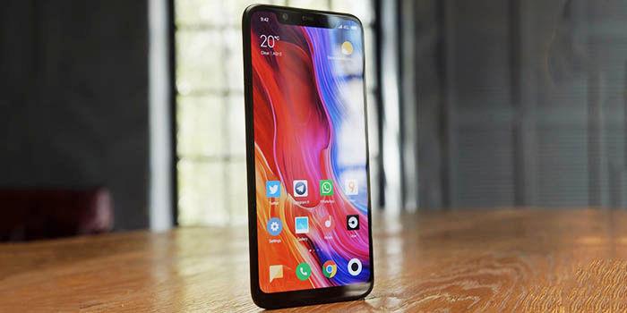 Xiaomi Mi 8 diseño