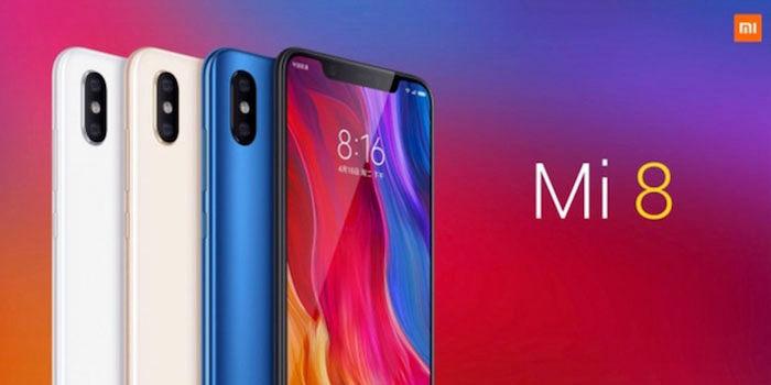 Xiaomi Mi 8 presentación