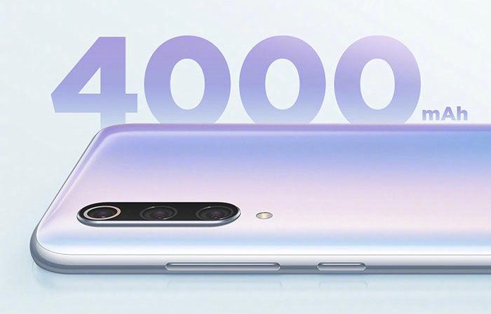 Xiaomi Mi 9 Pro 5G bateria