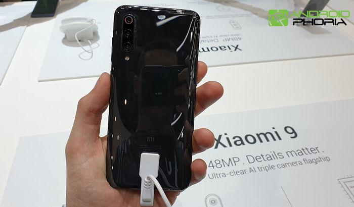 Xiaomi Mi 9 parte trasera