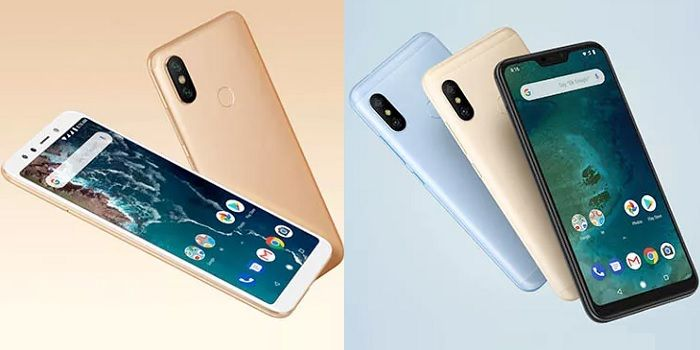Xiaomi Mi A2 vs Mi A2 Lite