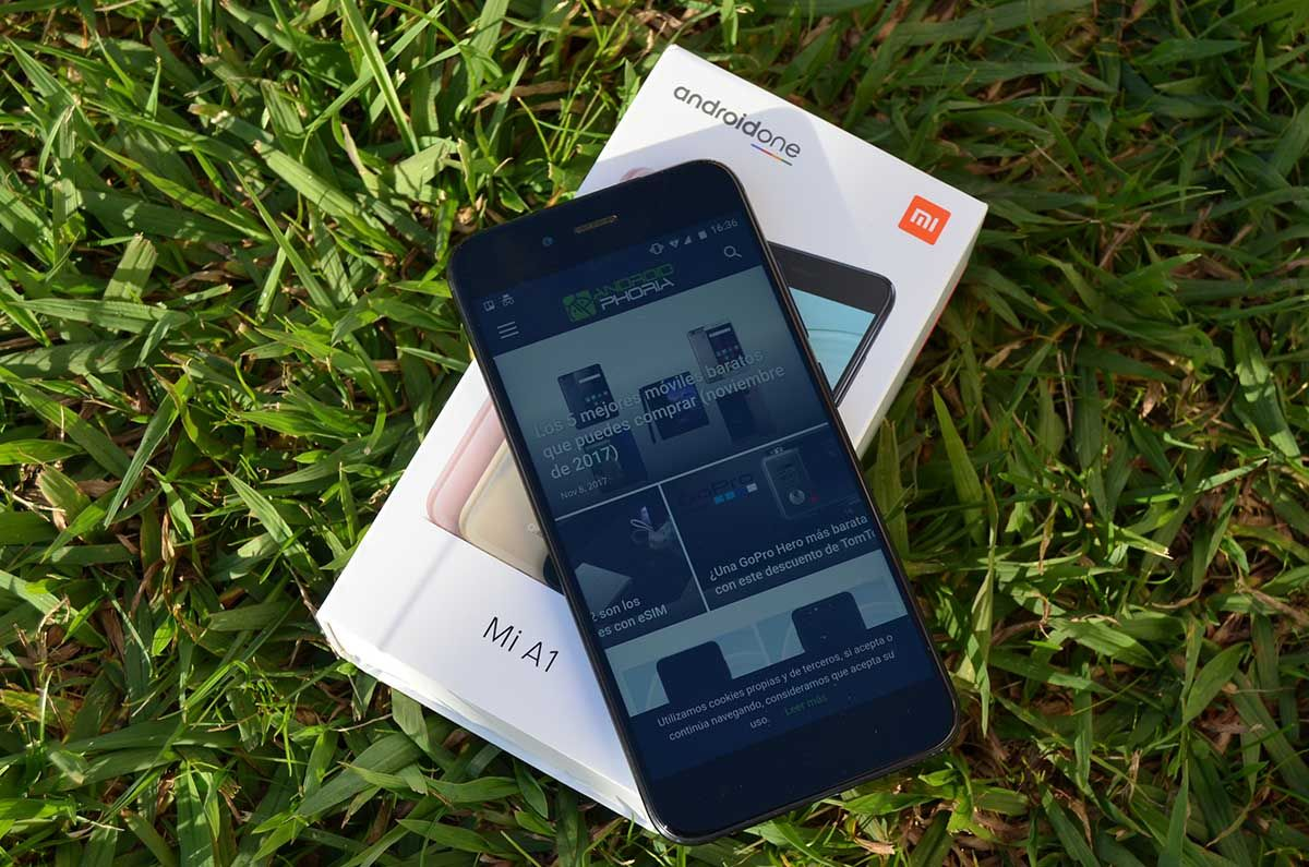 Xiaomi Mi A1 analisis completo