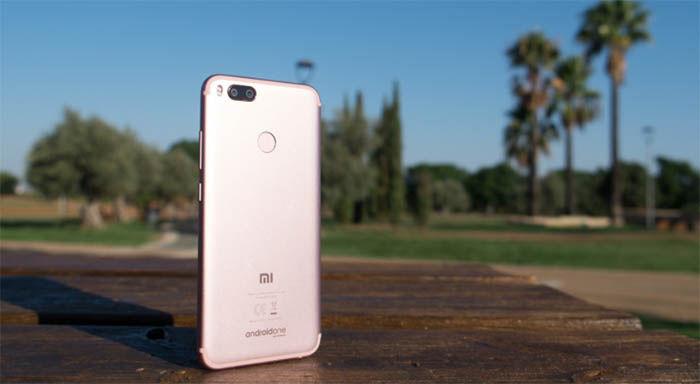 Xiaomi Mi A1 camaras