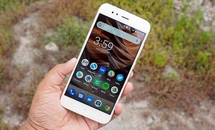 Xiaomi Mi A1 interfaz