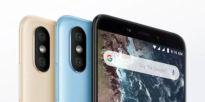 Xiaomi Mi A2 en varios colores