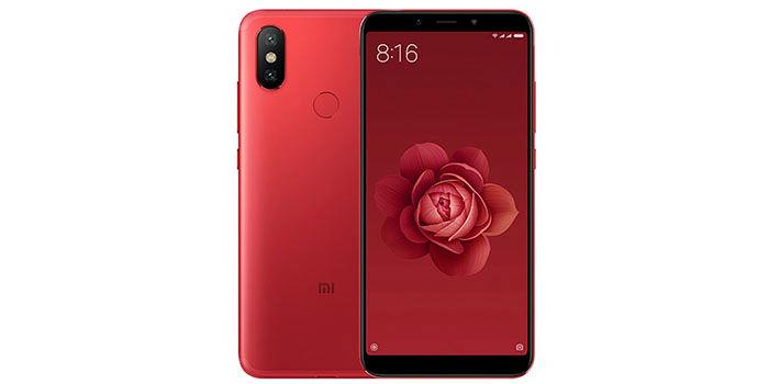 Xiaomi Mi A2 rojo