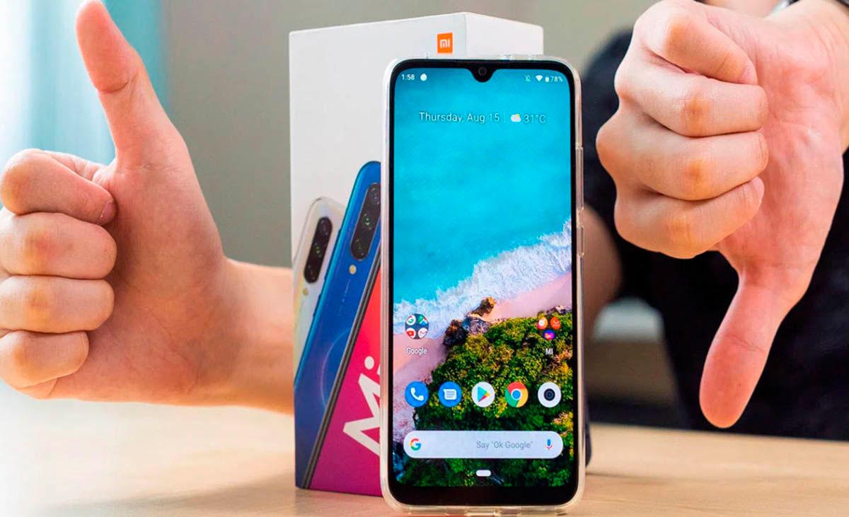 Xiaomi Mi A3 fallos actualizacion