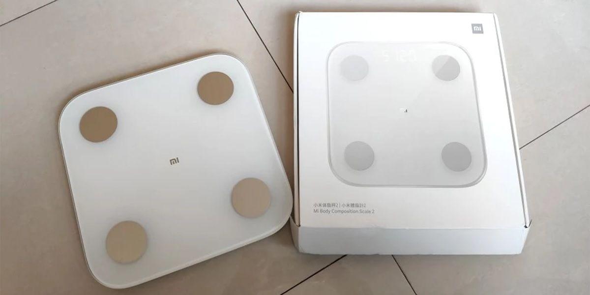 Xiaomi Mi Body Composition Scale 2 caja