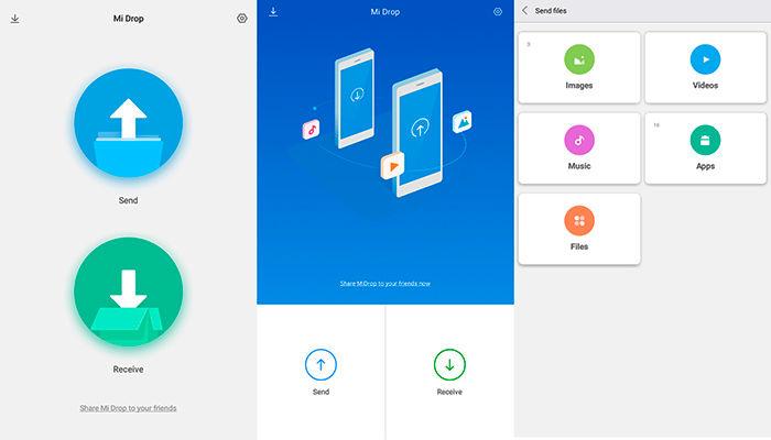 Xiaomi Mi Drop interfaz MIUI 9