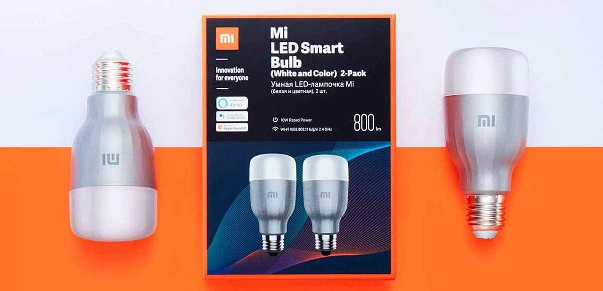 Xiaomi Mi Led Smart Bulb una bombilla muy completa y con un precio increíble