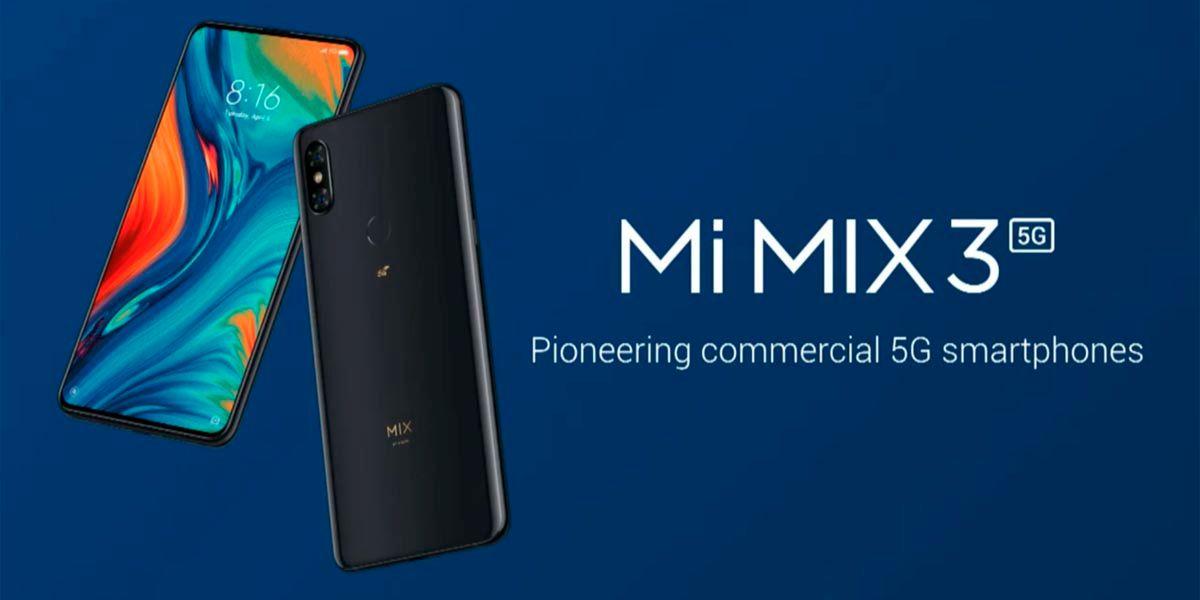 Xiaomi Mi MIX 3 5G a precio de saldo