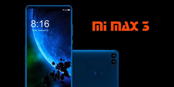 Xiaomi Mi Max 3 pantalla bateria